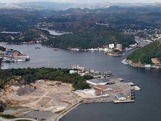 Eigersund havnevesen, utsikt over havna