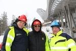 Torgeir Nordby, Wolfgang Happle og Arne Surén