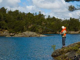 Fisking i Vannbassengene