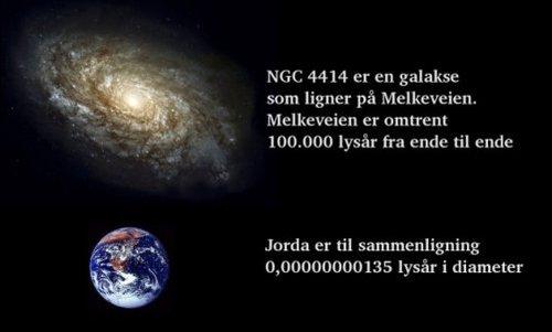 Hvor langt er et lysår?