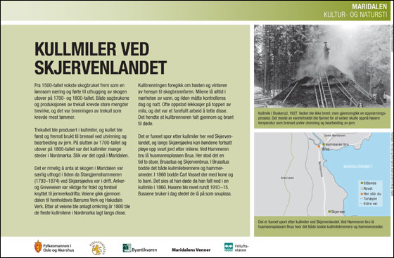 Kullmiler ved Skjervenlandet
