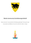 Microsoft Word - Bardu kommunes kondolanseprotokoll.doc