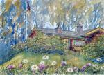 Peisestua Tegning: Frances Dodman