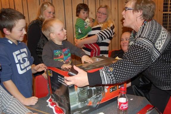 Aksjonskafè på Breivikbotn skole