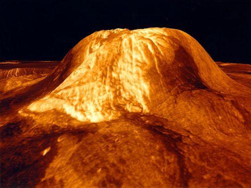 Simulering av overflaten til Venus