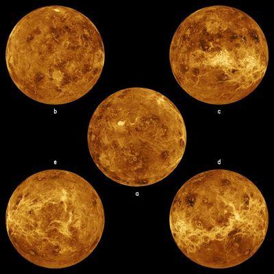 Oversiktsbilder av Venus