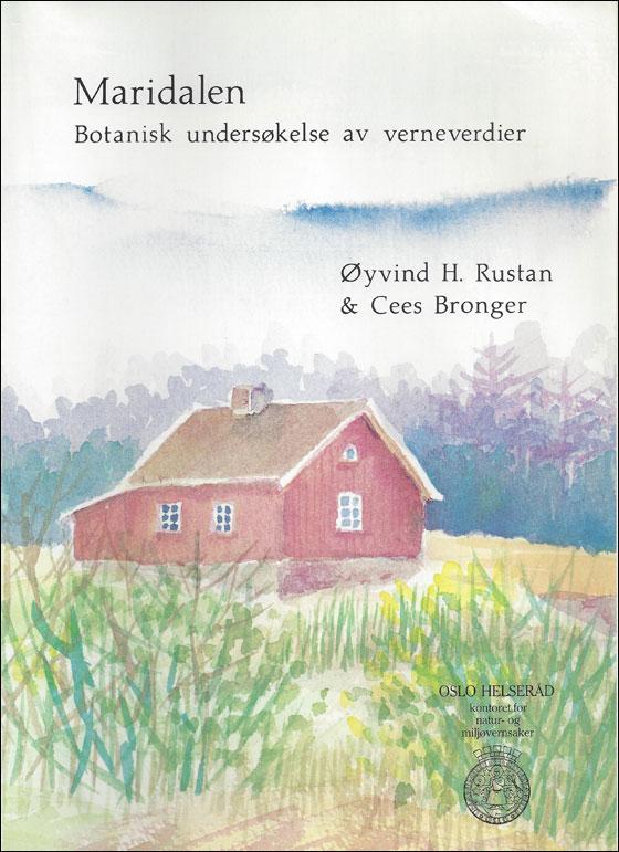 Botanisk rapport 1984 forside