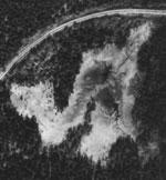 Flybilde Slåttemyra 1937