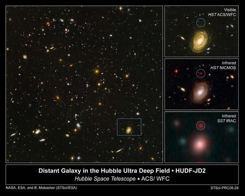 HUDF-JD2 Hubble ultra deep field