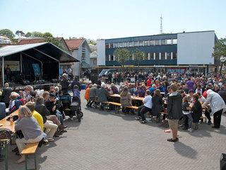 Fyrfestivalen på torget i Egersund
