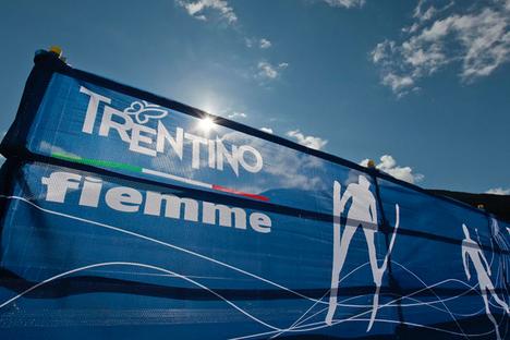 På tisdagen var det så här strålande väder i Val di Fiemme. FOTO: Federico Modica.