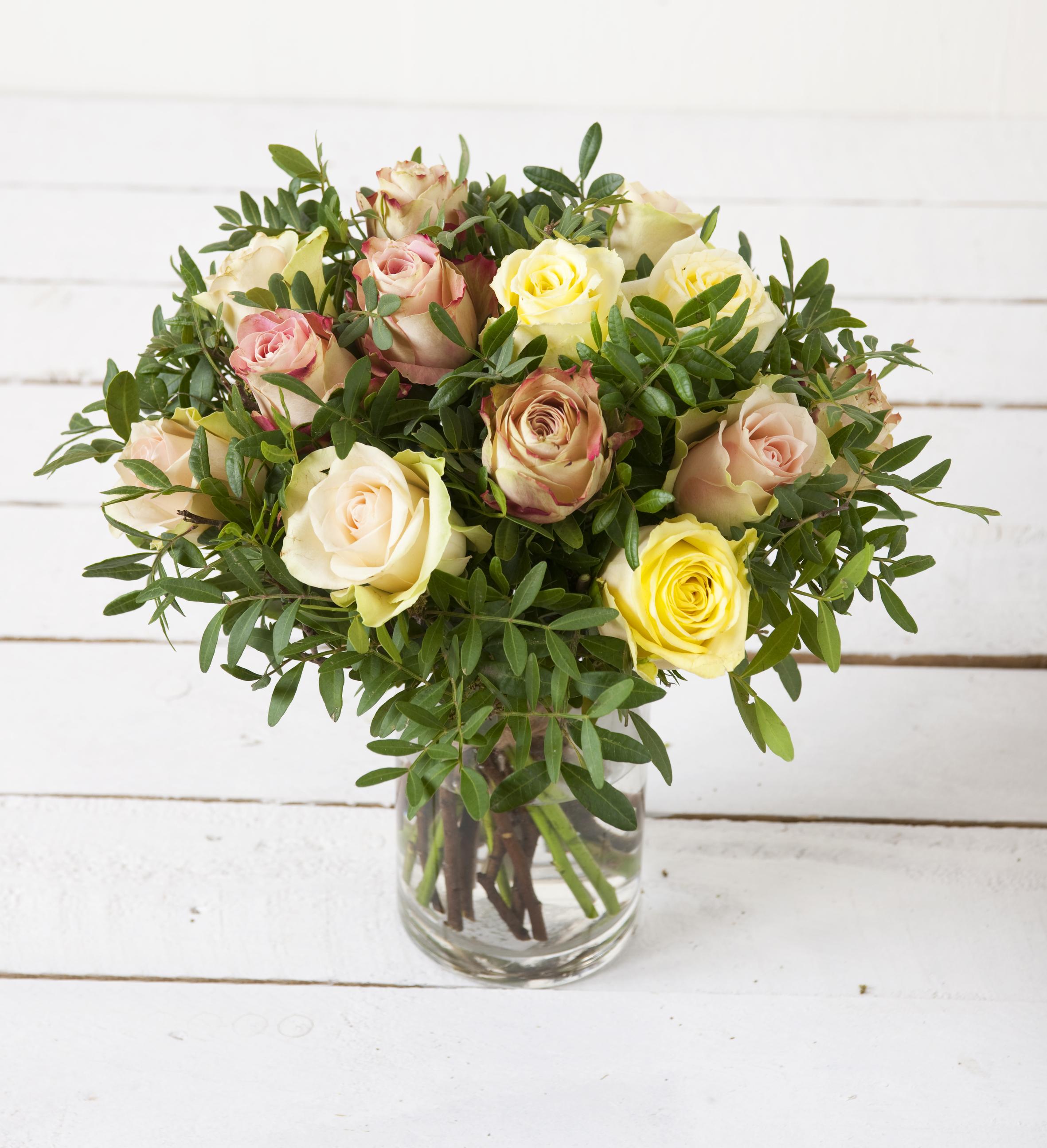 Si det med blomster