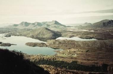 Kvernfjorden, Haugsnes ca.1992. Originalbildet er lånt av Lillian Olsen