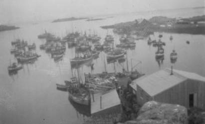 Fra Futen, Skagen ca. 1946 Originalbildet er lånt av Anna Andreassen