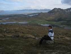 Utsikt fra Børgeheia mot Vea. Foto: Anne-Lise W. Robertsen
