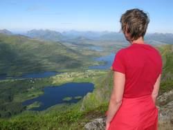 Flott utsikt fra Lynghaugtinden