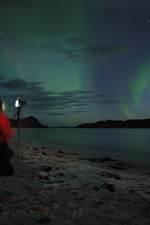 Nordlysfotografering. Foto: Staffan Lindstrøm