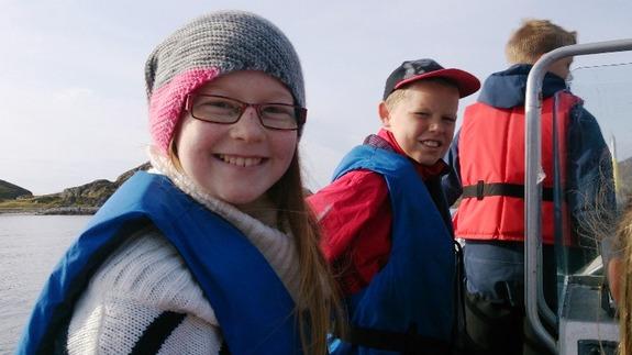 Båtskyss til Taborshamn