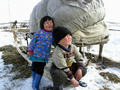 Nenets boy and girl
