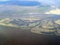 Dvina river delta