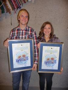 Prisvinnerne 2013