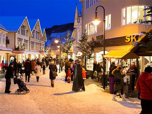jul i Gågata i egersund