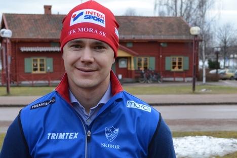 Tävlingsledaren Niklas Karlsson är glad att IFK Mora SK kan genomföra den fjärde upplagan av Intersportloppet i Grönklitt. FOTO: IFK Mora SK.
