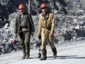Kirovsk mining workers