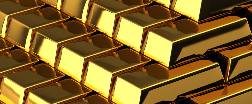 A pile of nice shiny gold bars