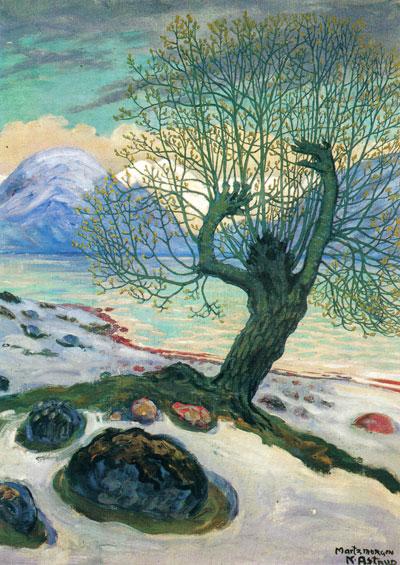 """""""Marsmorgen"""" av Nikolai Astrup"""