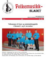 Folkemusikkbladet haust 2014 - forside