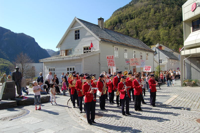 Dale Musikkforening 1 mai