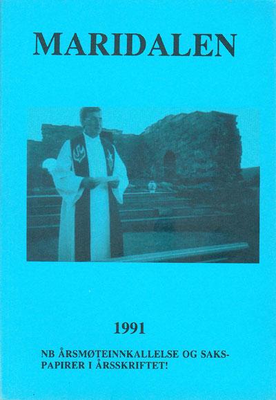 Forside årbok 1991