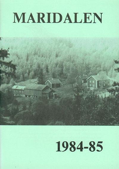 Forside årbok 1985