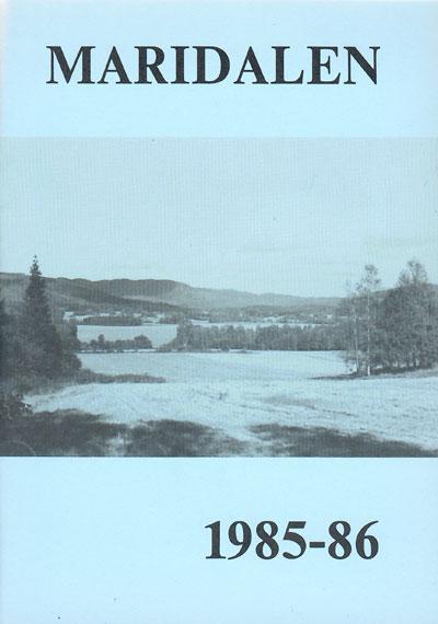 Forside årbok 1986
