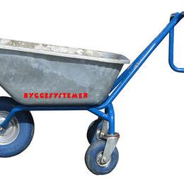 Trillebår med støttehjul