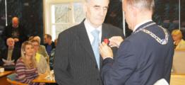 Finn Myrvang fikk kongens fortjenstmedalje