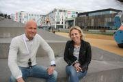Bilde av Jan-Erik Vik og Tina Bierud Hansen