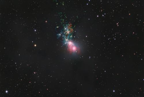 Støvete NGC 1333