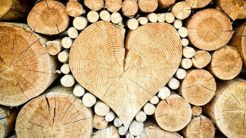 Trær hjerte