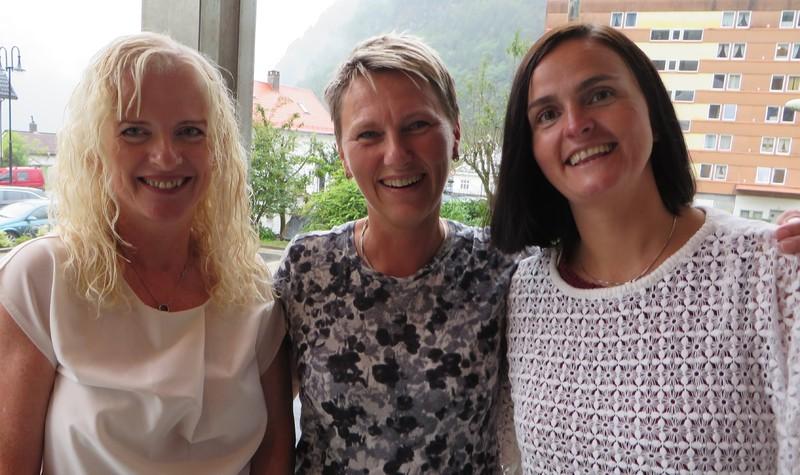 Anne Karin Berge, Ann Marit Mehus Lie, Anne Hedvig Faugstad