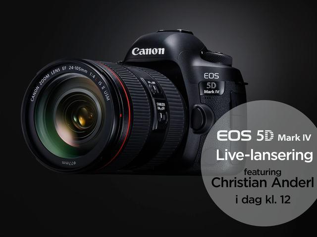 Canon lansering av 5D mark IV