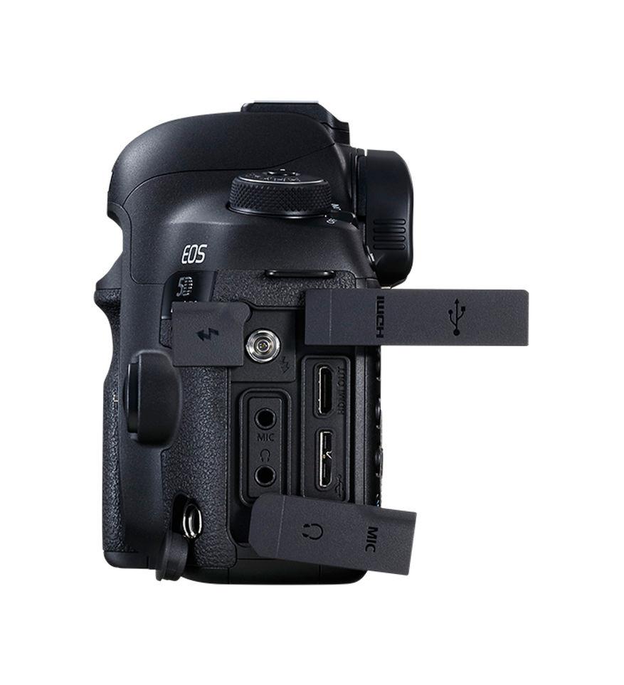 Canon 5D mark IV side ned kontakter
