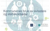 Ingressbilde til rapport om Kommunenes bruk av avlastere og støttekontakter
