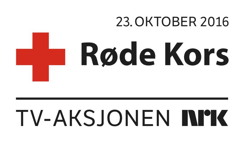 Logo for TVaksjoen 2016 Røde kors