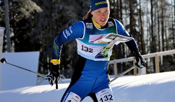 Tove Alexandersson är utsedd till Årets orienterare för sjätte gången - efter bland annat tre EM-guld i skidorientering i vintras. FOTO: Nordenmark Adventure.
