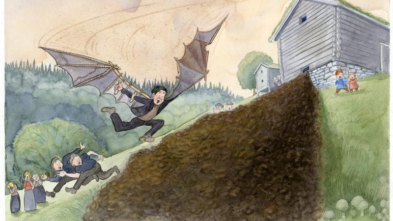Hans Barlien av Knut Høihjelle