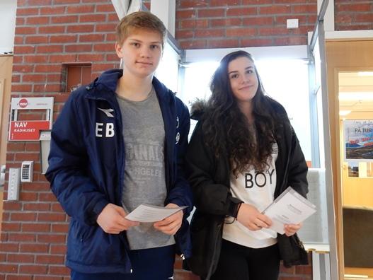 Camilla Hansen og Eirik Bendiksen