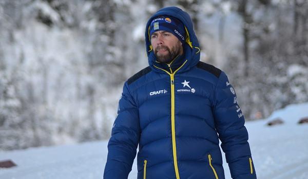 Landslagschef Rikard Grip ser fram emot säsongstarten och är nu med landslaget i Bruksvallarna fram till premiären. FOTO: Johan Trygg/Längd.se.