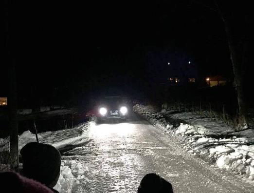 Refleksvettaksjon i Røsvik